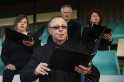 Jess Olivieri & Hayley Forward, Harlequins V's Visitors (with They Sydney Chamber Choir), (still), 2012
